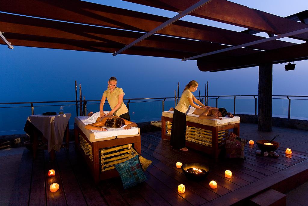 masajes lima al aire libre